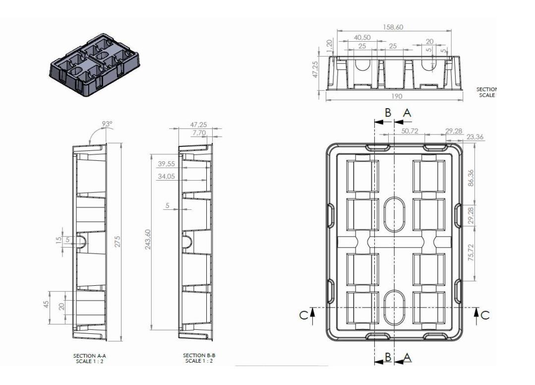 3D28LW packaging