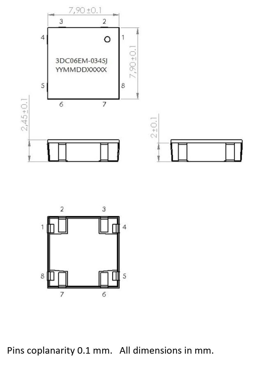 3DC06EM dimensions