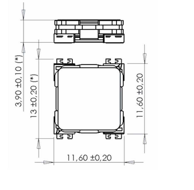 3DC11-DR dimensions