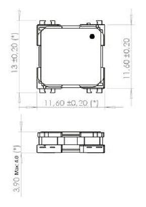 3DC11AOI-05DR dimensions