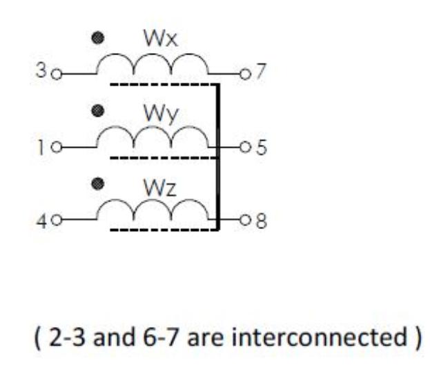 3DC11LPCAP electrical diagram