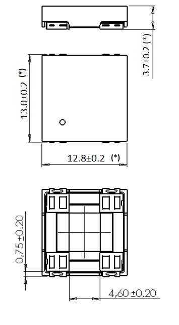 3DC11LPCAP dimensions