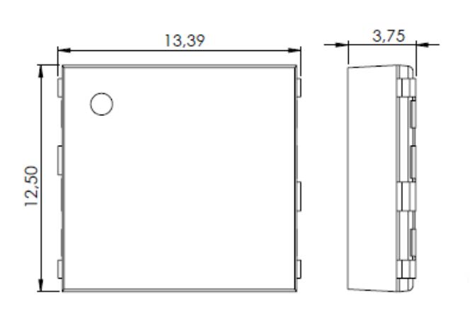 3DC12EM dimensions