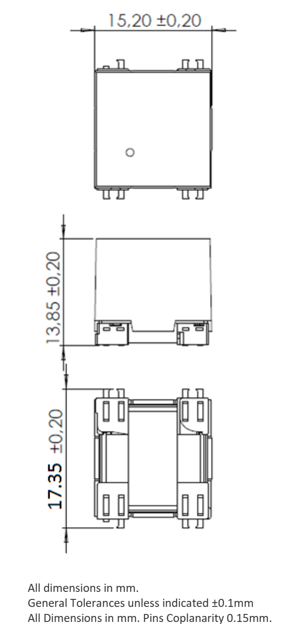 3DTX10 dimensions