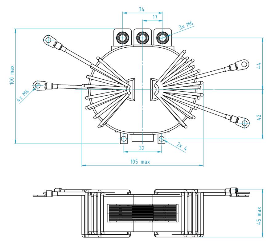 3DP-3KWHVLV-001 dimensions