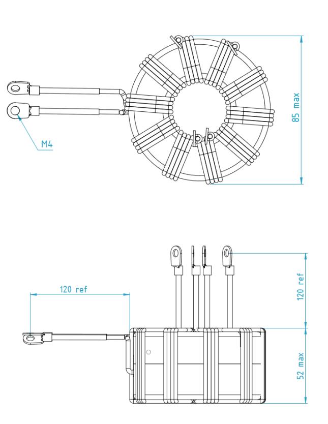 3DP-7KWHVHV dimensions