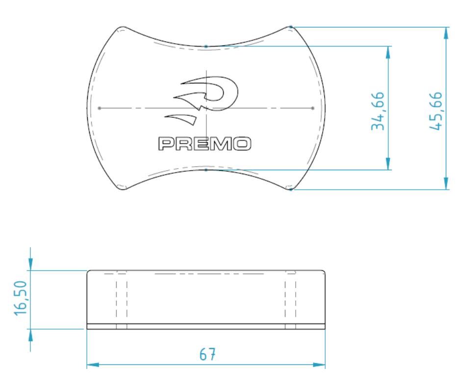 LFAD-BF dimensions