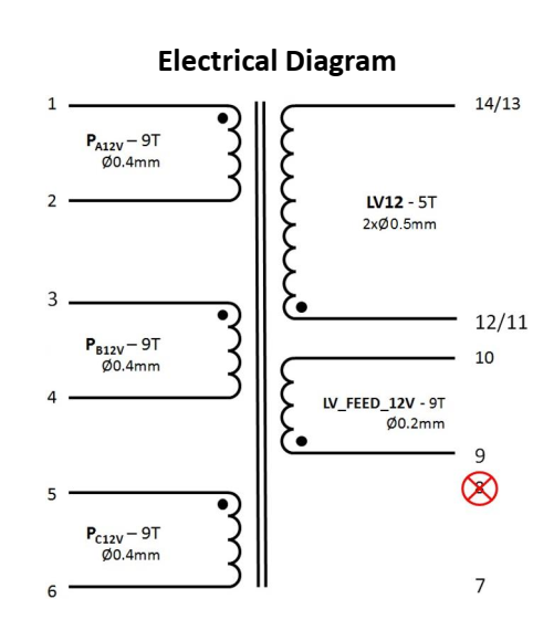 FLYT-002 electrical diagram