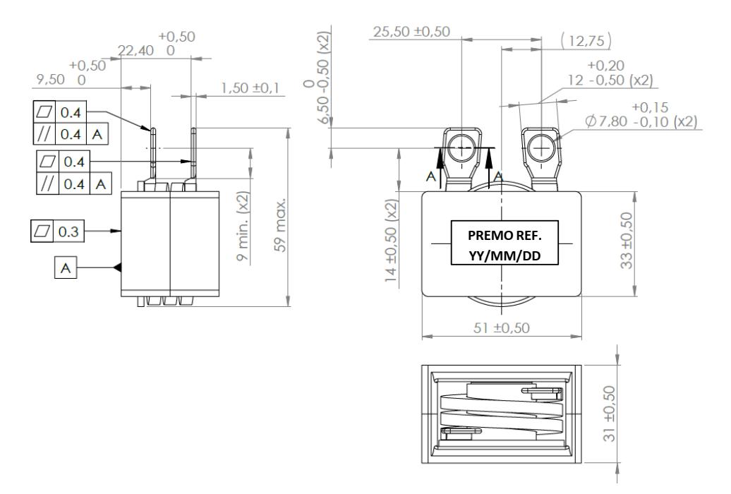 HPC2R0-230 dimensions