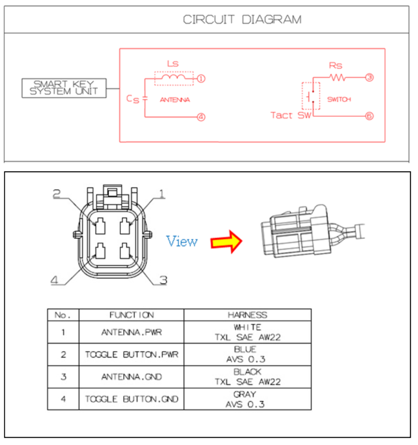 KGEA-DHS electrical diagram