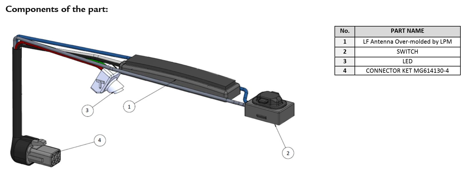 KGEA-DHSL parts