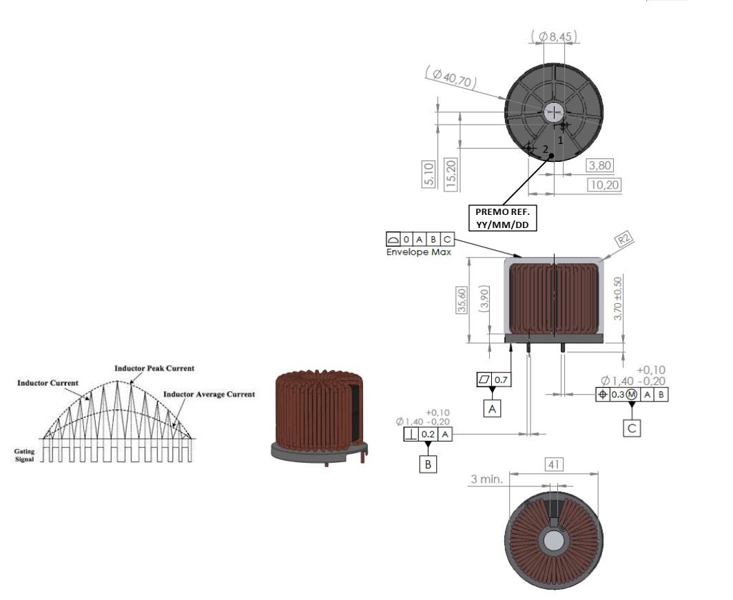 PFCA500-8H dimensions