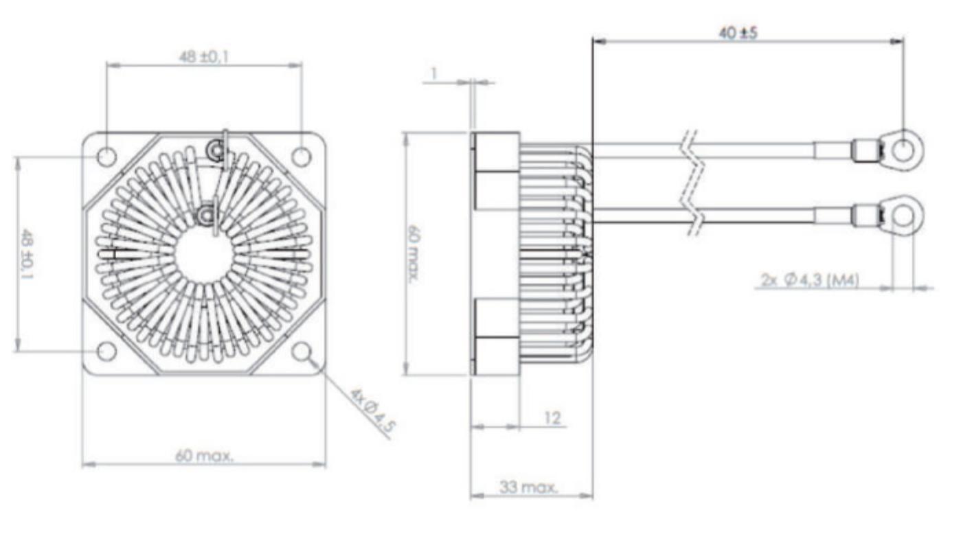 PFC-001 dimensions