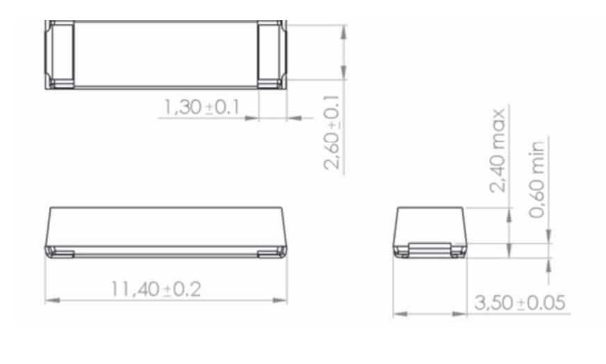 SDTR1103EM dimensions