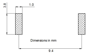 SDTR1103 Pad layout