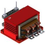 DCDC2400-001 Push-Pull Transformer 2kW 100kHz 1+1:12