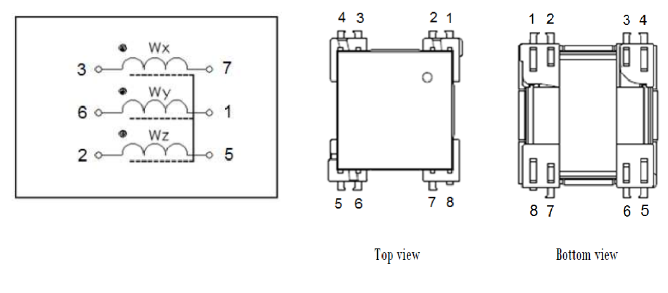 3DTX08 electrical diagram