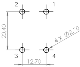 CMCF0R9-16V pad layout