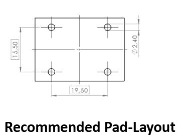CMCN1R0-36V pad layout