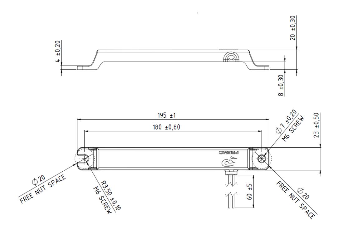 KGEA-MRHB dimensions
