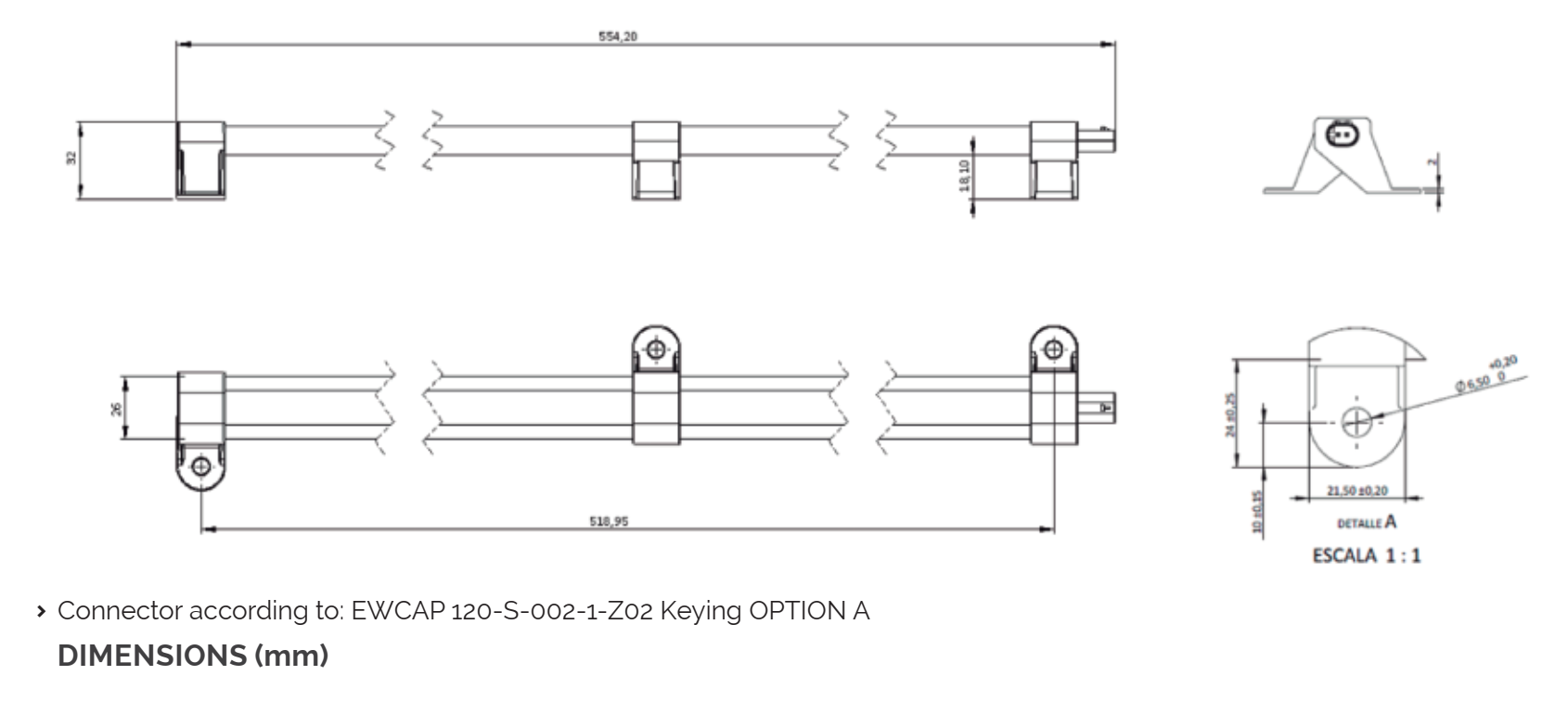 KGEA AFULR dimensions