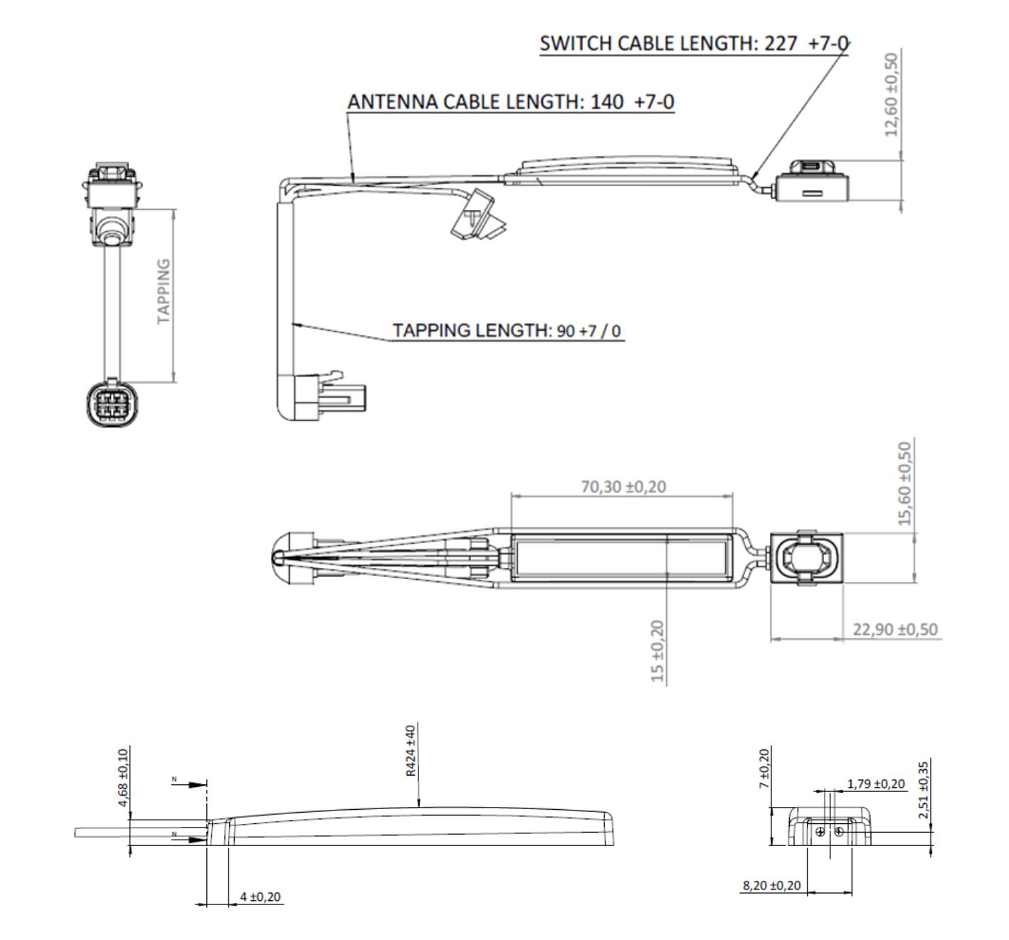 KGEA-DHSL dimensions