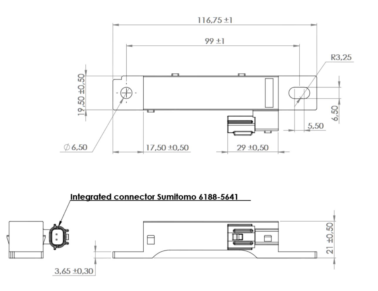 KGEA-HBW dimensions