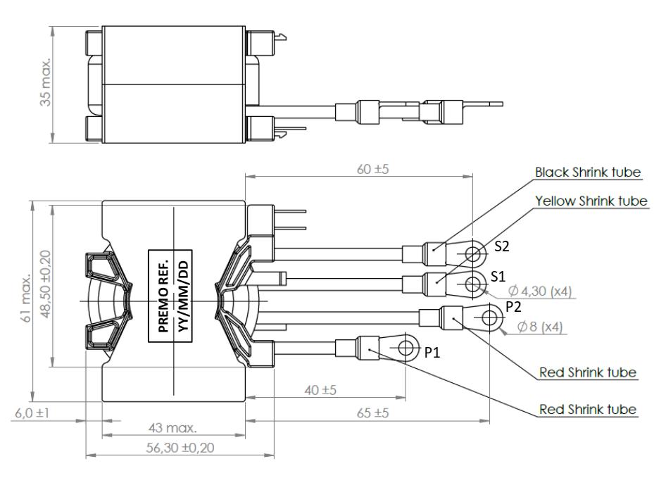 BC3.5LFB1.4 dimensions