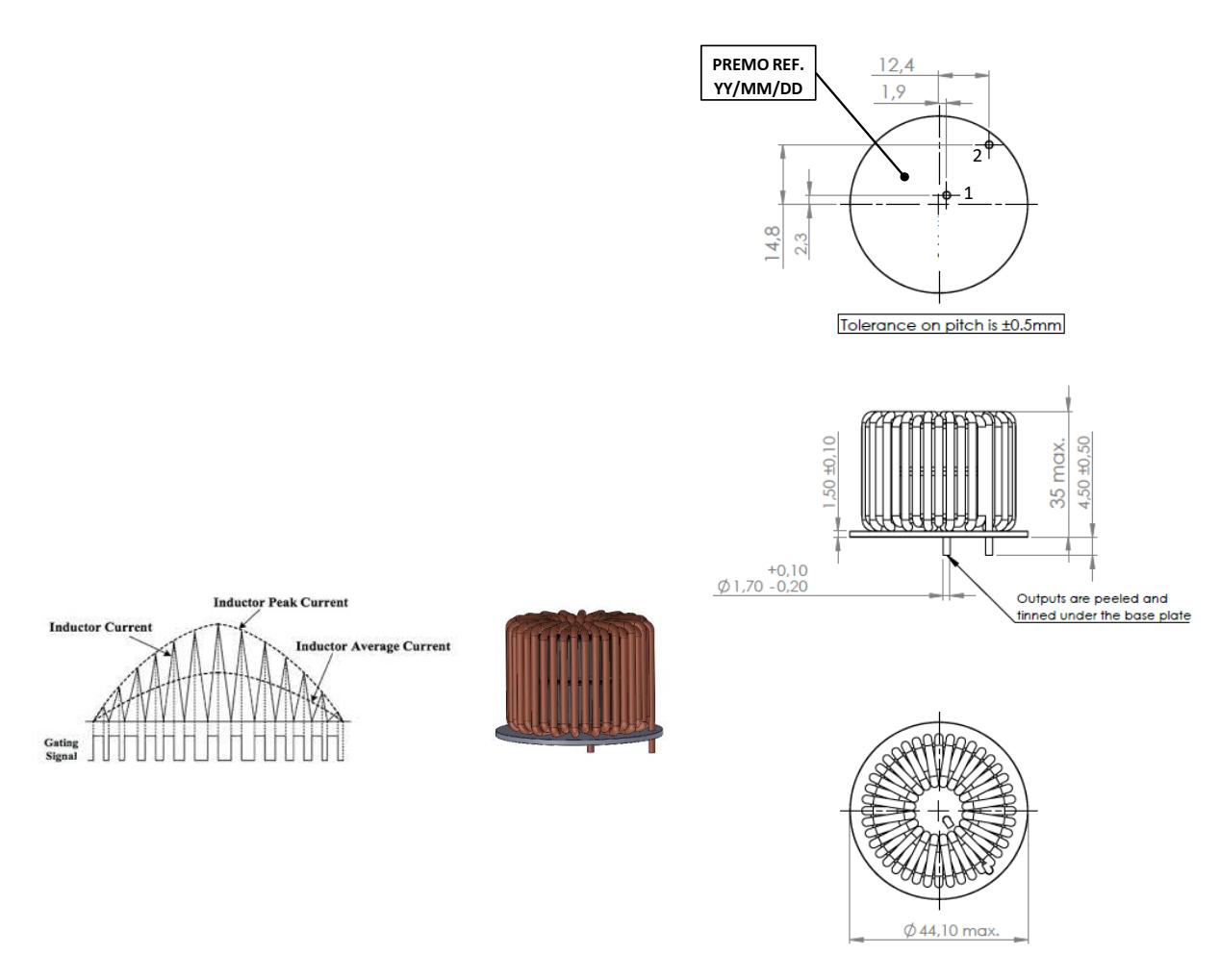 PFCS260-8H dimensions