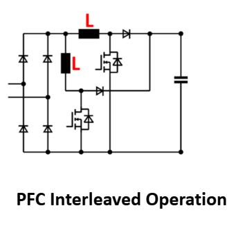 PFCS260-8H interleaved operation