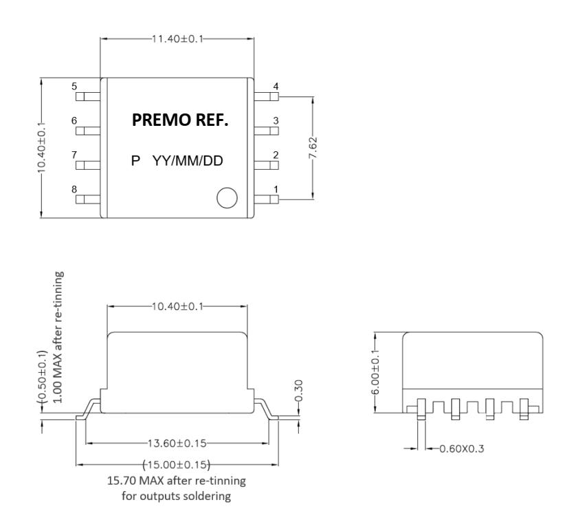 PLC-002 dimensions