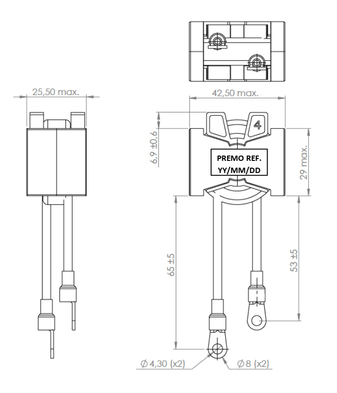 RINDLS22R-29 dimensions