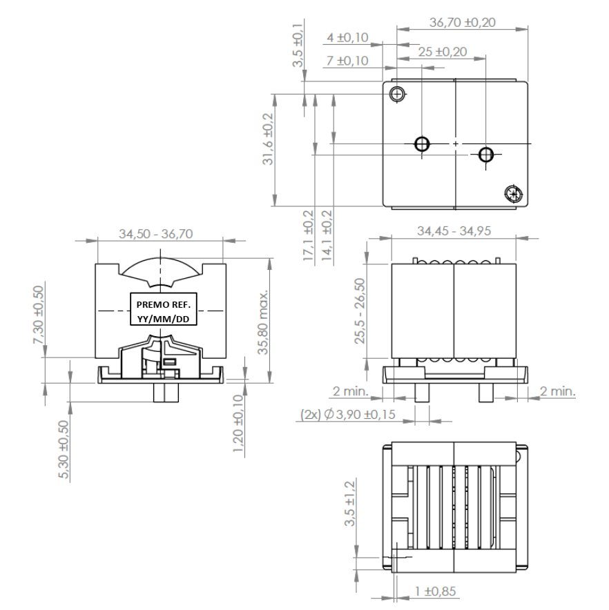 RINDLS6.3-30T dimensions