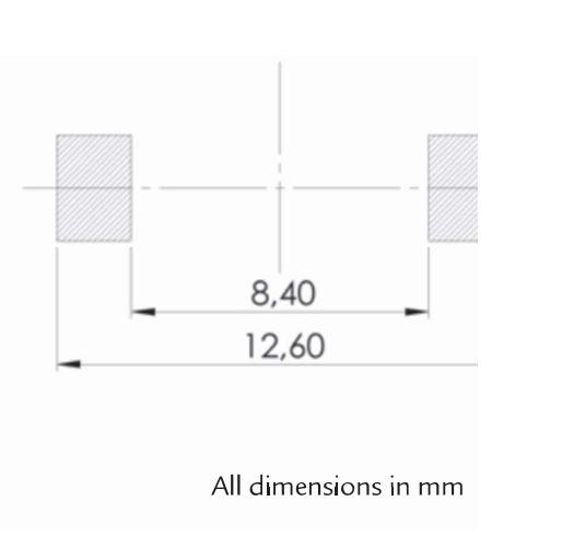 SDTR1103EM pad layout