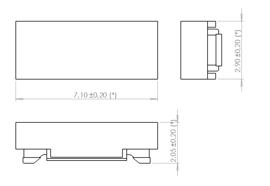 TP0602CAP dimensions
