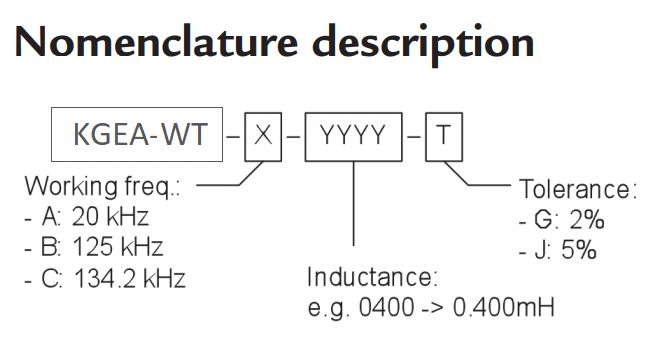 KGEA-WT  nomenclature