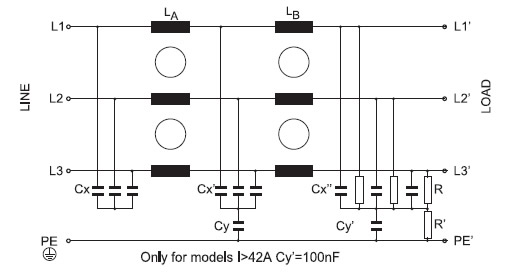 FVDT (< 150A) Electrical diagram