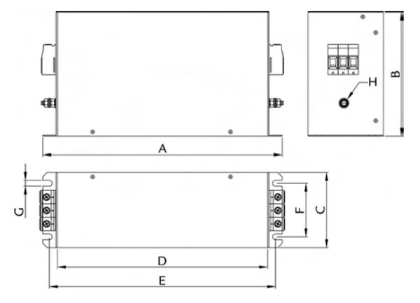 FVTC Dimensions
