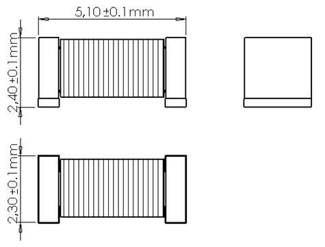TC0502 Dimensions